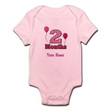 Two Months - Baby Milestones Body Suit
