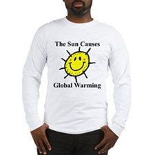 Sun Causes Global Warming Long Sleeve T-Shirt