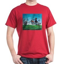 BIKER CAT - T-Shirt