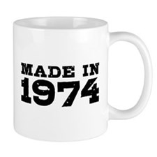 Made In 1974 Small Mugs