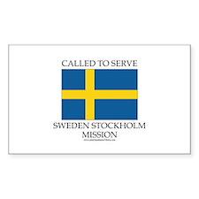 Sweden Stockholm Mission - Sweden Flag - Called to
