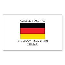 Germany Frankfurt Mission - Germany Flag - Called