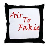 Air to Fakie Throw Pillow