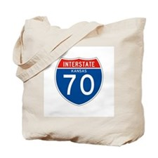 Interstate 70 - KS Tote Bag