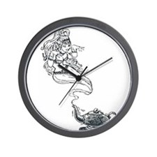 Funny Chillies Wall Clock
