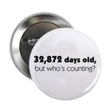 "90th Birthday 2.25"" Button (100 pack)"