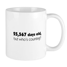 70th Birthday Mug