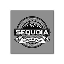 "Sequoia NP Ansel Adams.png Square Sticker 3"" x 3"""