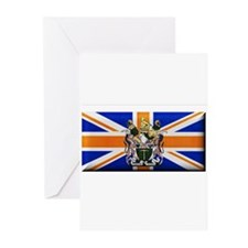 British Rhodesian Flag Greeting Cards (Pk of 10)