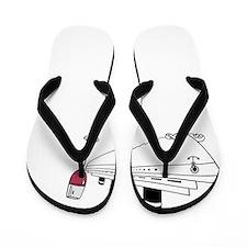 Cruise + Wine Flip Flops