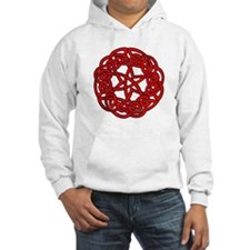 Red Celtic Beauty Hoodie