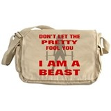 Female I Am A Beast Messenger Bag