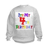 4th Birthday Sweatshirt