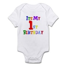 1st Birthday Infant Bodysuit