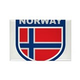 norway_emblem Rectangle Magnet