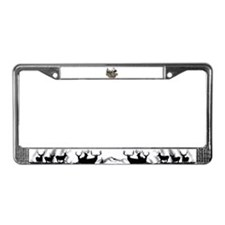 Hunt and Fish License Plate Frame