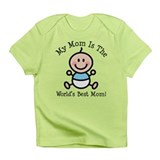Baby Boy Stick Figure Best Mom Infant T-Shirt