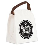 Beauty and the Beast Since 1740 Canvas Lunch Bag