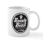 Beauty and the Beast Since 1740 Mug