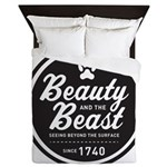 Beauty and the Beast Since 1740 Queen Duvet