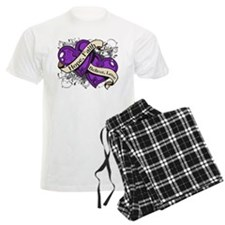 Lupus Hope Dual Heart Pajamas