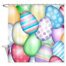Decorated Eggs Shower Curtain