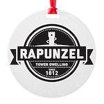 Rapunzel Since 1812 Round Ornament