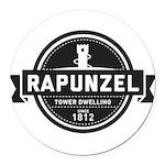 Rapunzel Since 1812 Round Car Magnet