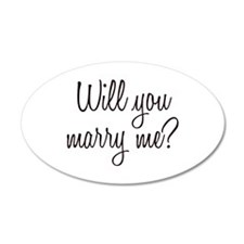 Marry Me Wall Decal