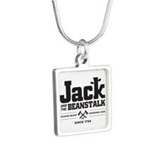 Jack & the Beanstalk Since 1734 Silver Square Neck