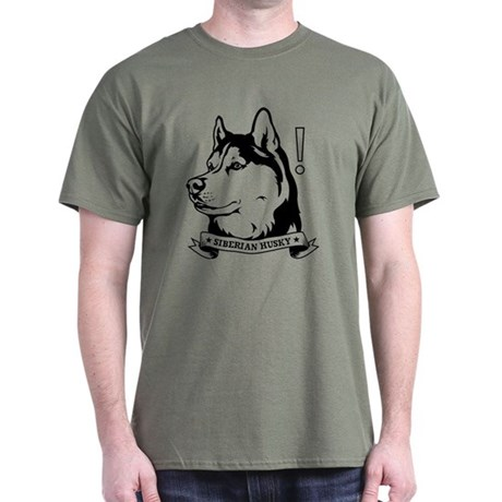 SIBERIAN HUSKY icon Red T-Shirt $5 off!