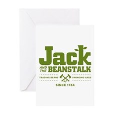 Jack & the Beanstalk Since 1734 Greeting Card