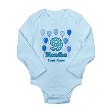 9 Months - Blue Polka Dot Body Suit