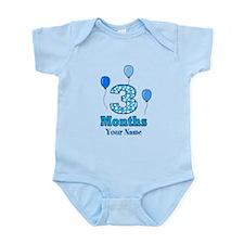 3 Months - Blue Polka Dot Body Suit