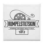Rumpelstiltskin Since 1812 Tile Coaster