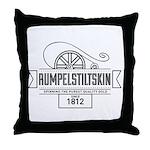 Rumpelstiltskin Since 1812 Throw Pillow