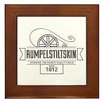 Rumpelstiltskin Since 1812 Framed Tile