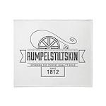 Rumpelstiltskin Since 1812 Throw Blanket