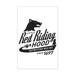 Little Red Riding Hood Since 1697 Mini Poster Prin