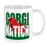 PemCardi Corgi Nation Mug