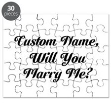 Personalized Marry Me Puzzle