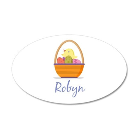 Easter Basket Robyn Wall Decal