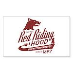 Little Red Riding Hood Since 1697 Sticker (Rectang