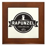 Rapunzel Since 1812 Framed Tile