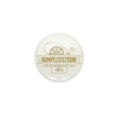 Rumpelstiltskin Since 1812 Mini Button (100 pack)