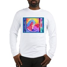 Sunset Curly Long Sleeve T-Shirt