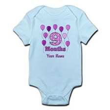 9 Months - Purple Polka Dot Body Suit