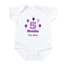 5 Months - Purple Polka Dot Body Suit