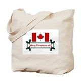 Canadian Christmas, eh? Tote Bag