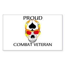 Proud Combat Veteran Decal